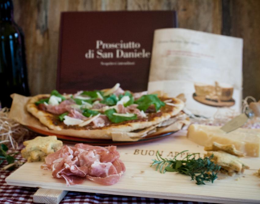 Pizza Prosciutto di San Daniele - Ein Häppchen Liebe