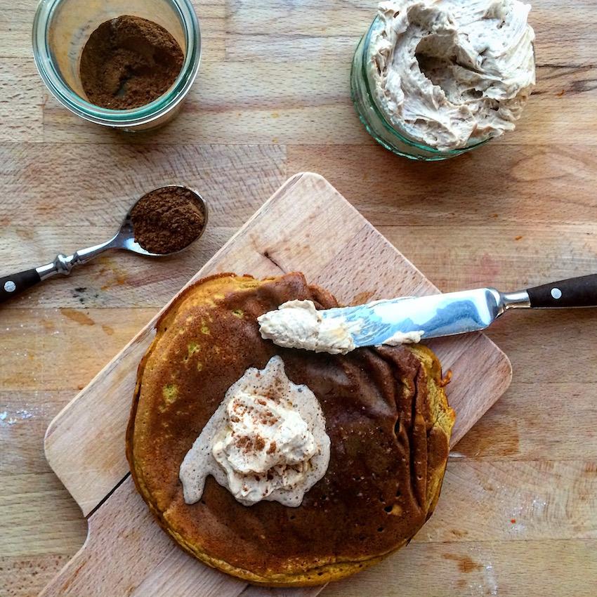 Kürbis-Pancakes - Ein Häppchen Liebe