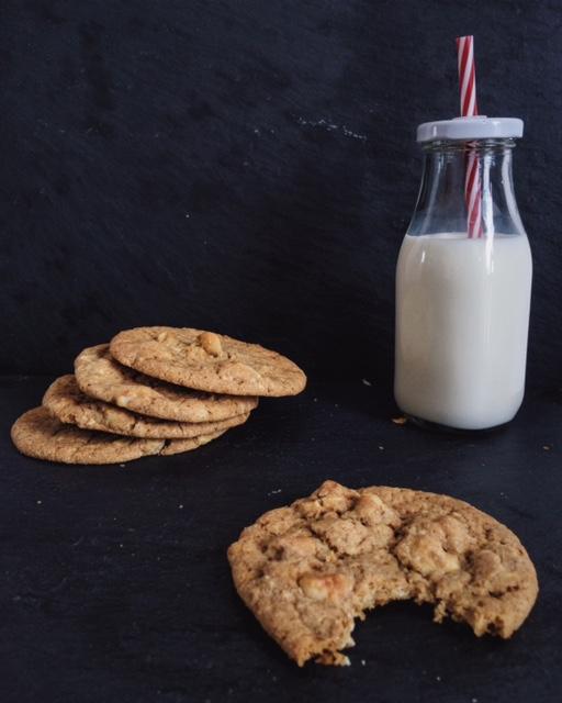 White Chocolate Macadamia Cookies - Ein Häppchen Liebe