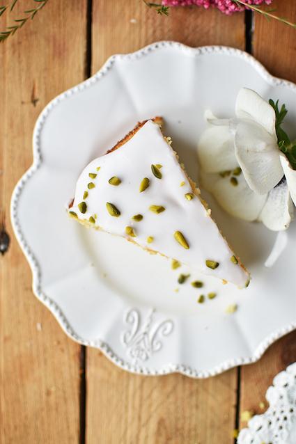 Zitronen-Grießkuchen - Das Knusperstübchen - Blog-Geburtstag - Ein Häppchen Liebe